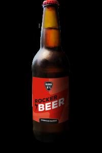 Rocker beer. Cerveza American Blonde Ale